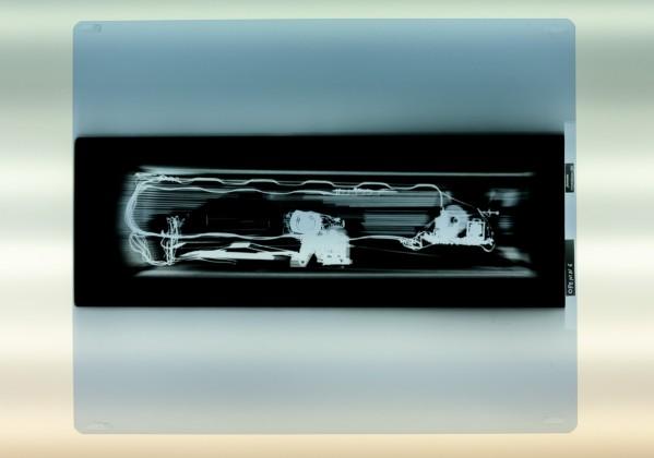 Axel Straschnoy 2008 3 x-rays on light-box X-rays: 43 x 35,5 cm.
