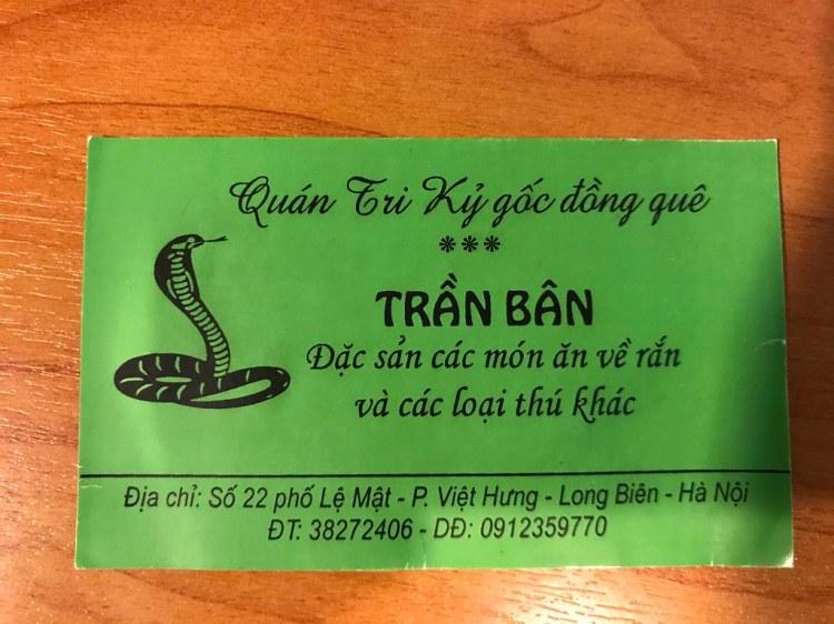 Quán Đồng Quê Trần Bân