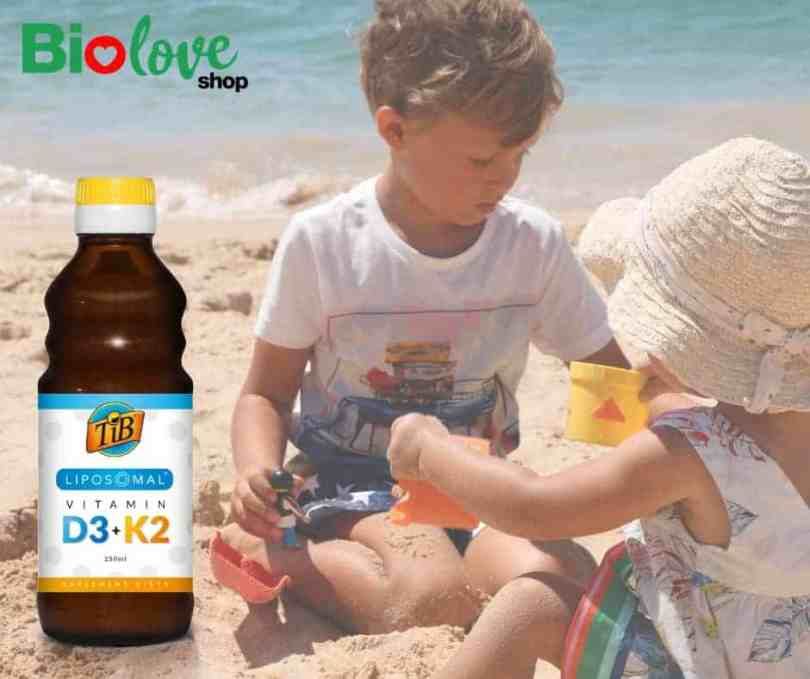 Naturalne sposoby na ząbkowanie - witamina d3 z k2