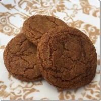 Twelve Days of Christmas Cookies: Chewy Molasses Crinkles