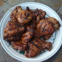 Grilled Peruvian Chicken Thighs