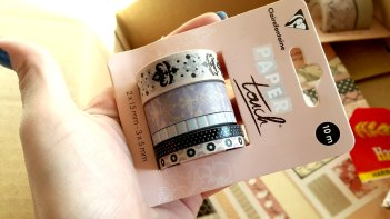 Masking Tape Clairefontaine Paper Touch Magnolia