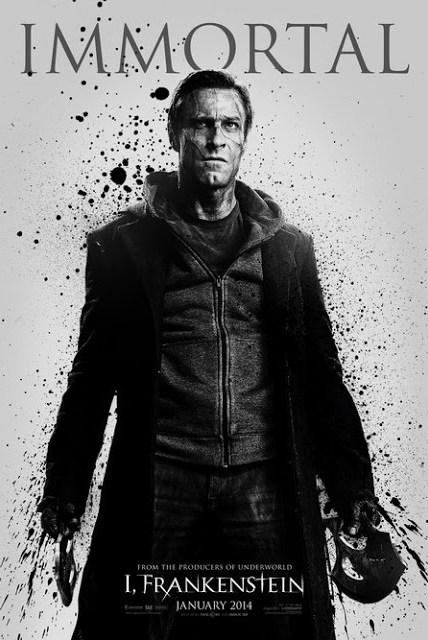Tres nuevos pósters de la adaptación de 'I, Frankenstein' con Aaron Eckhart