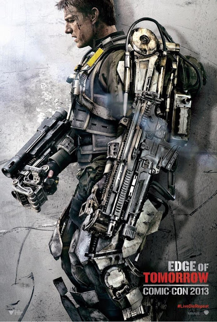 Nuevos pósters de 'Edge of Tomorrow' dedicados a Tom Cruise y Emily Blunt