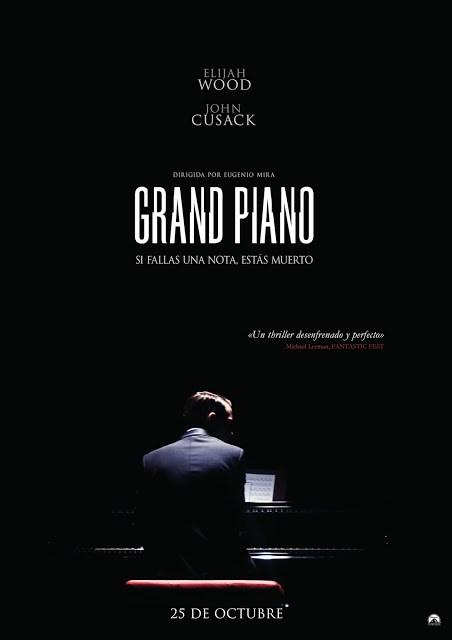 Téaser póster y tráiler de 'Grand Piano', la nueva película de los creadores de 'Buried'
