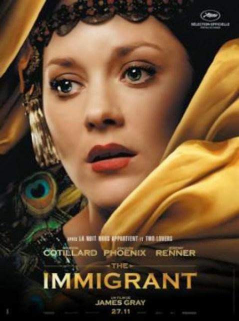 Nuevo póster de 'The Inmigrant' con Marion Cotillard y Joaquin Phoenix