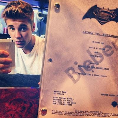 Justin Bieber presenta su candidatura para ser Robin en 'Batman vs Superman'