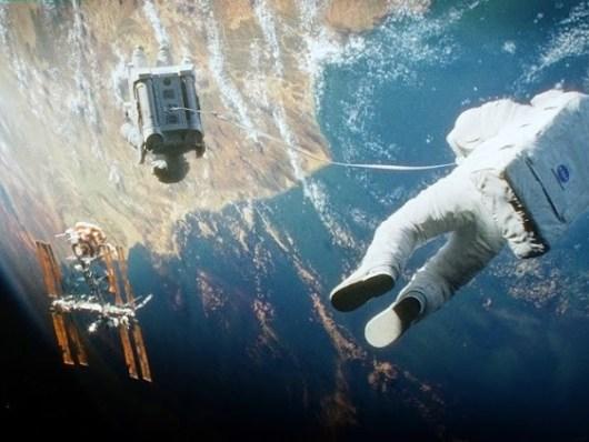 17 nuevas imagenes impresionantes de 'Gravity'