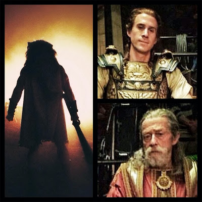 Dwayne Johnson publica las primeras fotos de Joseph Fiennes y John Hurt en 'Hércules', de Brett Ratner