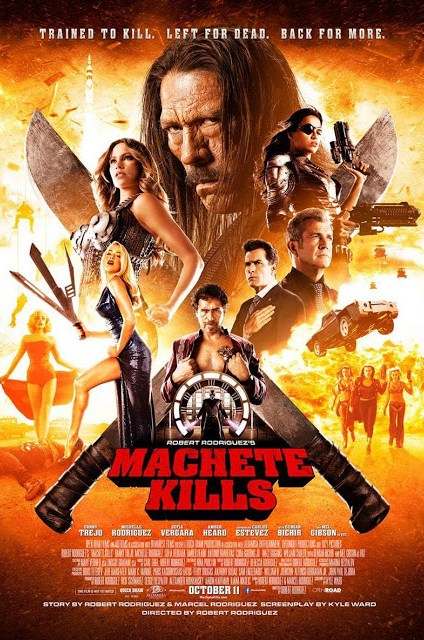 Póster internacional de 'Machete Kills'