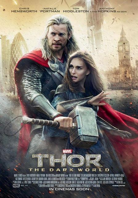 Nuevo póster internacional de 'Thor: El mundo oscuro'