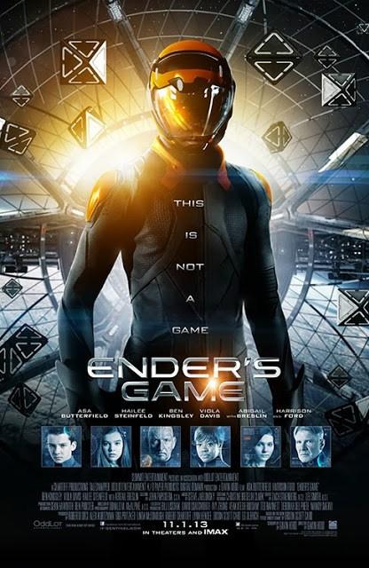 Primer spot de televisión y seis espectaculares pósters de 'El juego de Ender'