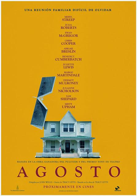 DeAPlaneta revela el teaser póster y primeras imágenes de 'Agosto, con Meryl Streep y Julia Roberts