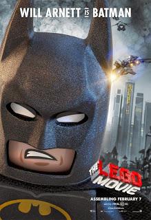 Remesa de pósters de 'La Lego Película' dedicados a Morgan Freeman, Charlie Day, Morgan Freeman y Will Arnett