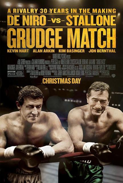 Stallone y De Niro juntos en el nuevo póster de 'Grudge Match'