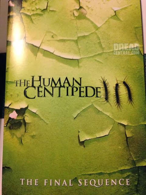 Primer póster de 'The Human Centipede 3: The Final Sequence'