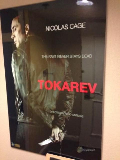 Primer teaser póster de 'Tokarev', de Paco Cabezas con Nicolas Cage