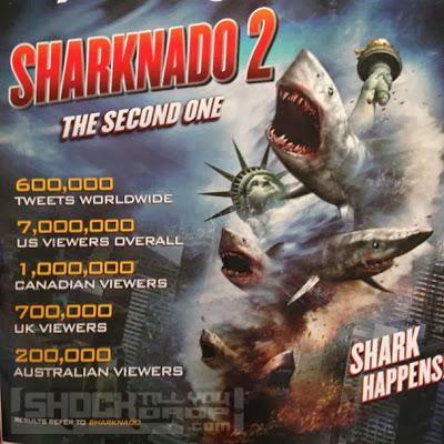 Primer póster de 'Sharknado 2: The Second One'