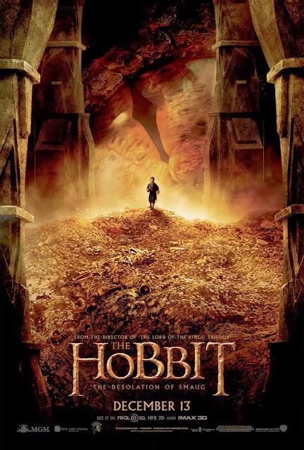 Espectacular nuevo póster de 'El Hobbit: La Desolación de Smaug'