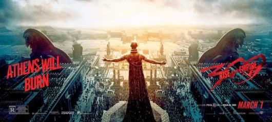 *El pueblo aclama a Jerjes en el nuevo banner de '300: El origen de un imperio'