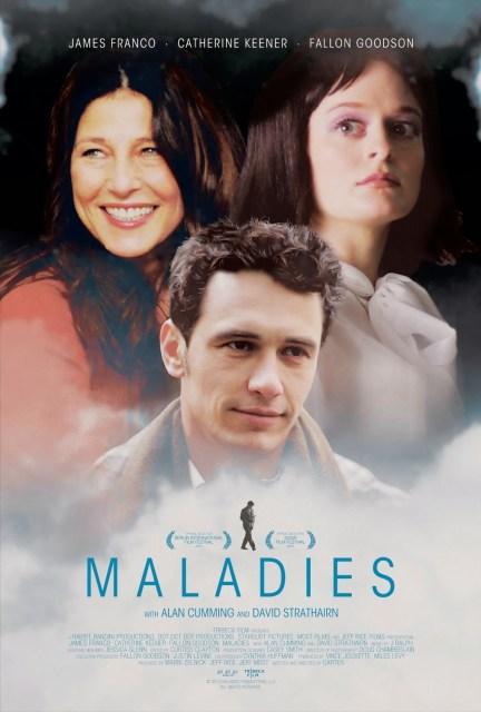 Póster y tráiler de 'Maladies', con James Franco