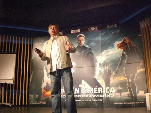 Masterclass con Carlos Pacheco, por el estreno de 'Capitán América: El soldado de invierno'