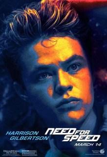 Ocho nuevos pósters individuales de los protagonistas de 'Need for Speed'