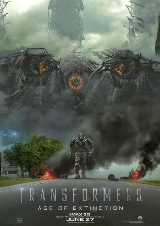 Nuevo póster en IMAX de Transformers: La era de la exticinción