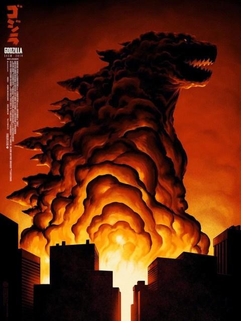 Nuevo póster de 'Godzilla' de la mano de Mondo