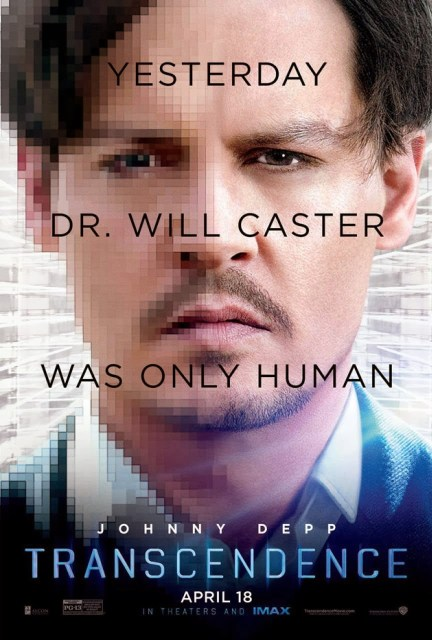 Nuevo póster de 'Transcendence', con Johnny Depp