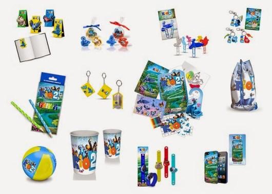 Concurso 'RIO 2': Tenemos 5 super packs de merchandising de la película