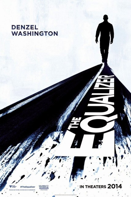 Póster de 'El protector: The Equalizer', remake de 'El ecualizador'