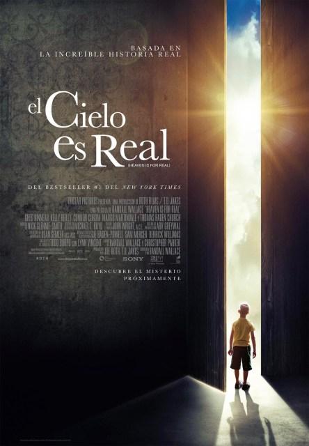 Póster y tráiler español de 'El cielo es real'
