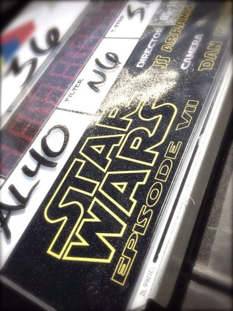 Primera imagen oficial del rodaje de 'Star wars: Episodio VII - The ancient fear'