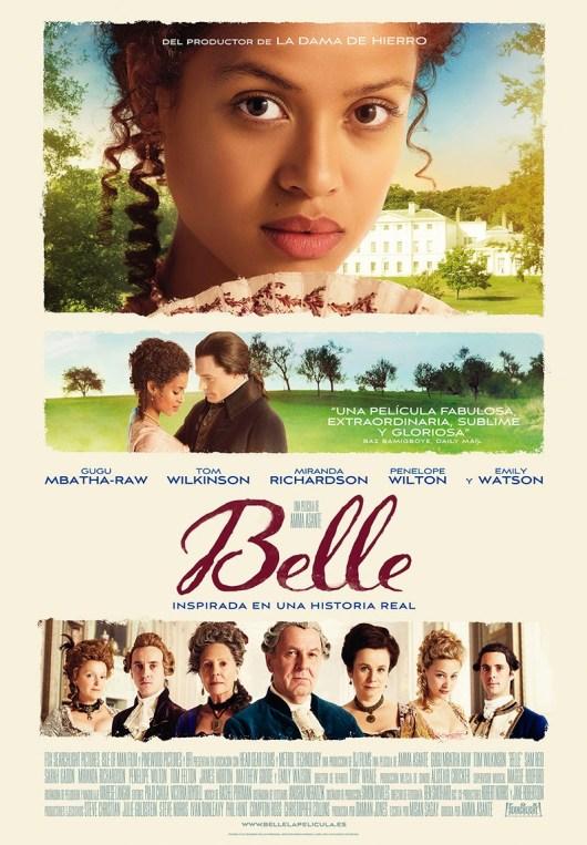 Nuevas imágenes, póster y tráiler en castellano de 'Belle'