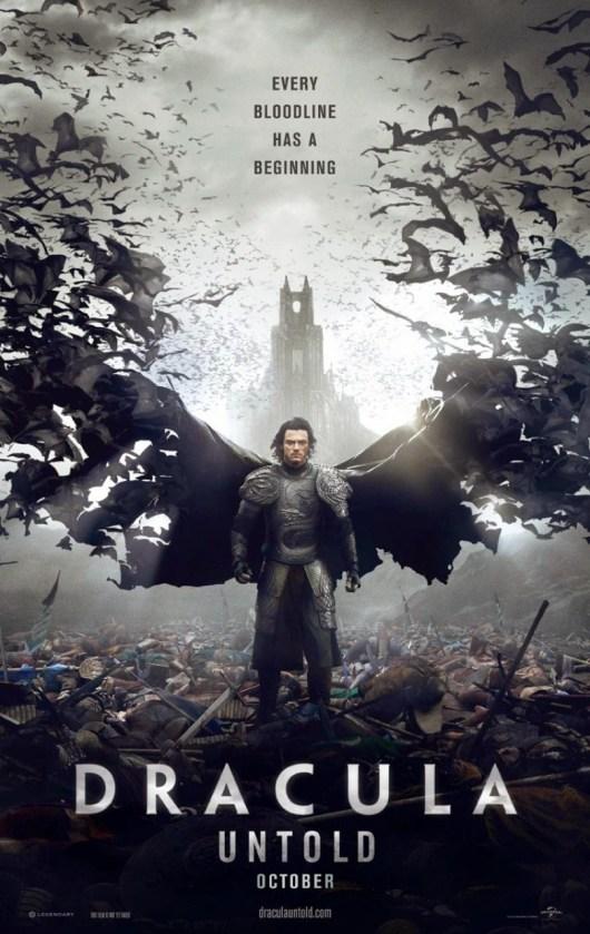 Primera imagen y dos nuevos pósters de 'Dracula untold'