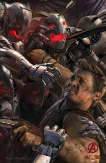 Cuatro nuevos pósters de 'Avengers: Age of Ultron'