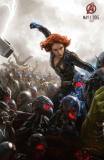 Dos nuevos pósters de 'Avengers: Age of Ultron'