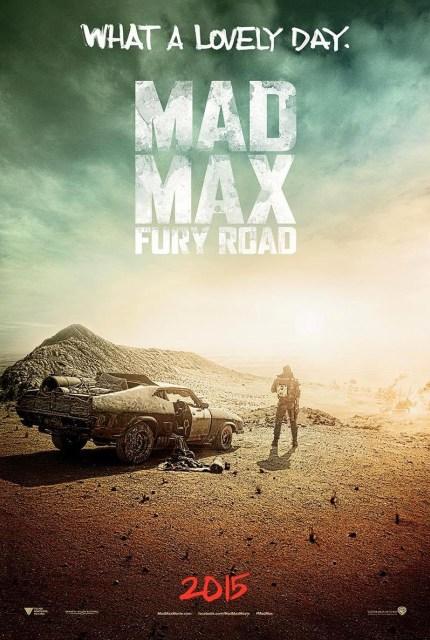 Primer póster de 'Mad Max: Fury Road' revelado en Comic-Con de San Diego