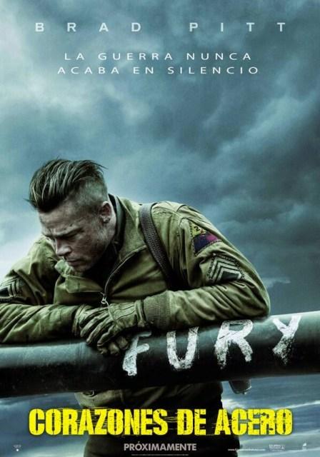 Tráiler y póster español de 'Corazones de acero', con Brad Pitt y Shia LaBeouf