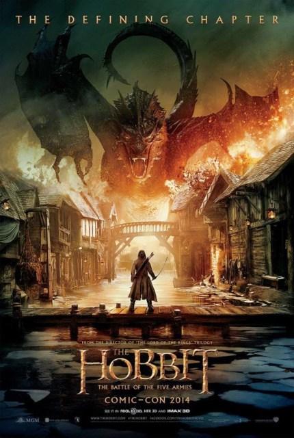 Primer póster de 'El Hobbit: La batalla de los cinco ejércitos' revelado en Comic-Con de San Diego