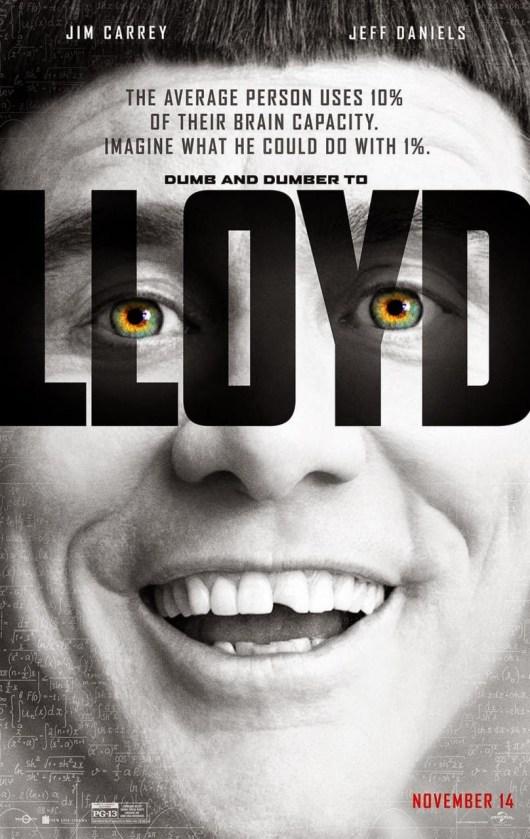 Los nuevos pósters de 'Dos tontos todavía más tontos' al más puro estilo 'Lucy'