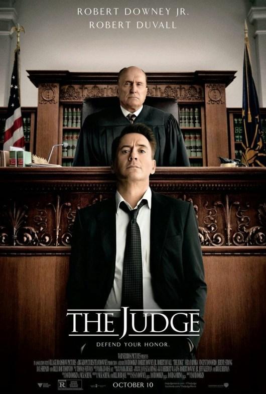 Robert Downey Jr. publica un nuevo póster de 'The judge'