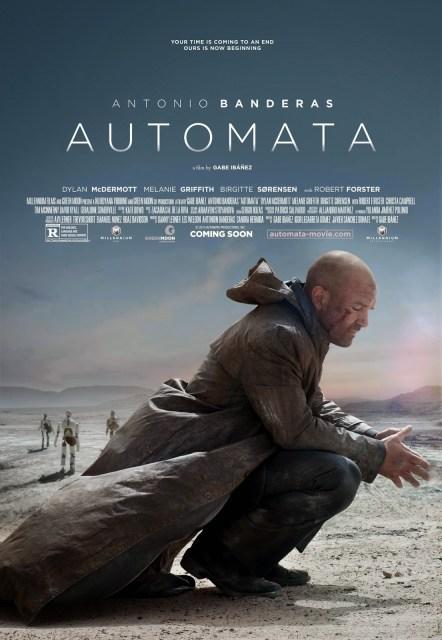 Dos nuevos pósters de Antonio Banderas en 'Autómata'