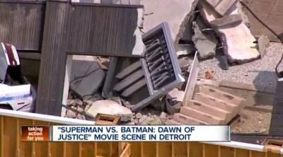 Más imágenes del rodaje de 'Batman v Superman: Dawn of justice'