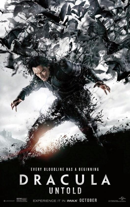 Nuevo póster IMAX de 'Drácula. La leyenda jamás contada'