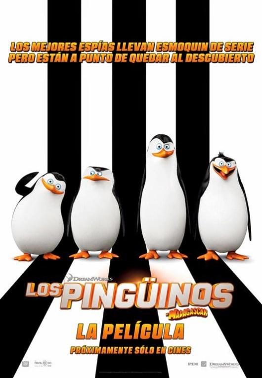 Póster y tráiler oficial español de 'Los pingüinos de Madagascar'
