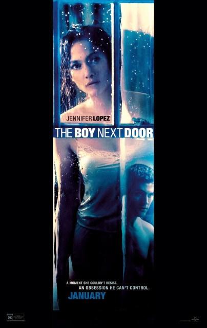 Jennifer Lopez lo pasa mal en el póster y el tráiler de 'The boy next door'