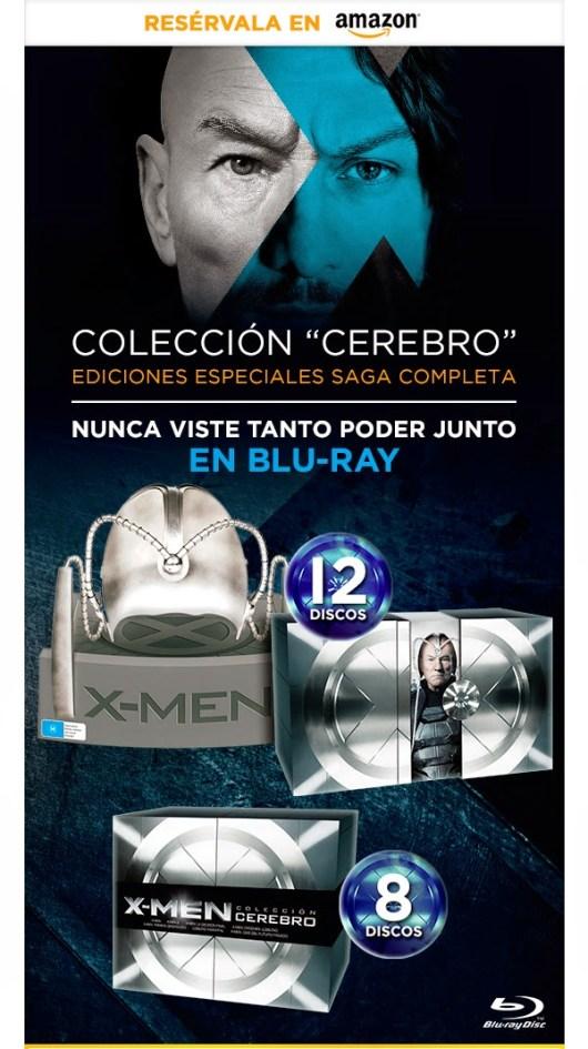 A la venta 'X-Men: Días del futuro pasado' en Blu-ray 3D, Blu-ray, DVD y la Edición Especial Cerebro