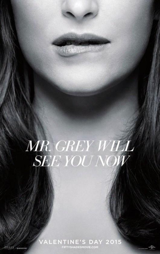 Ssegundo tráiler mundial en español de 'Cincuenta sombras de Grey', y nuevo póster